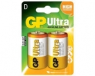 Batteri GP (D) LR 20 Ultra, 2/fp